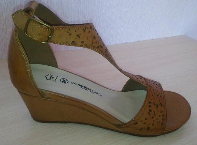 chaussure de profil