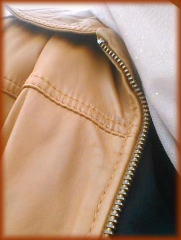 détails cuir REDSKIN