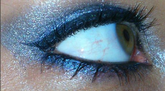 make-up vue de côté