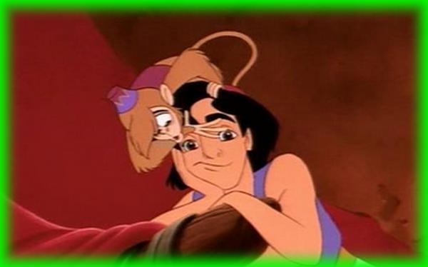 Aladin avec Abou