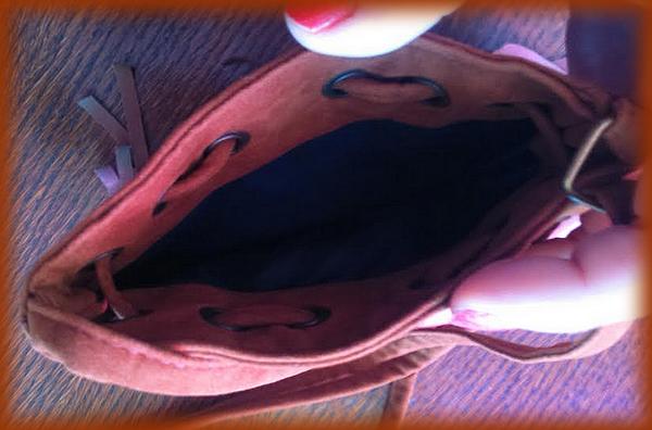 intérieur sac bandoulière