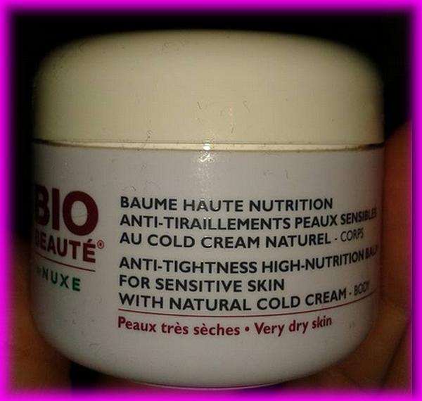 BAUME HAUTE NUTRITION BIO BEAUTE BY NUXE