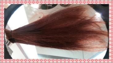 queue de cheveux