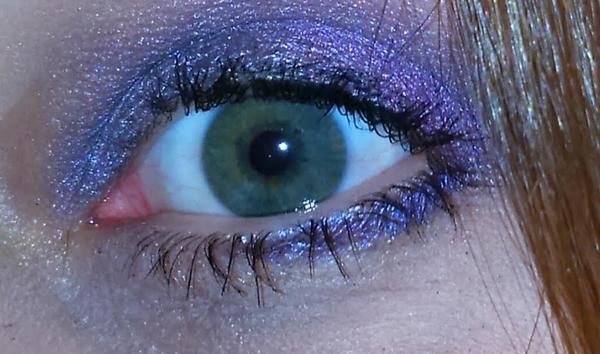 essai make-up violet