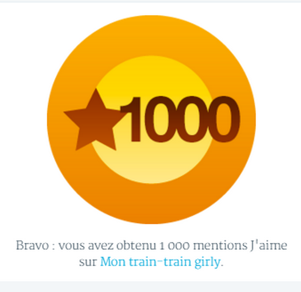 1000 likes 16 janvier