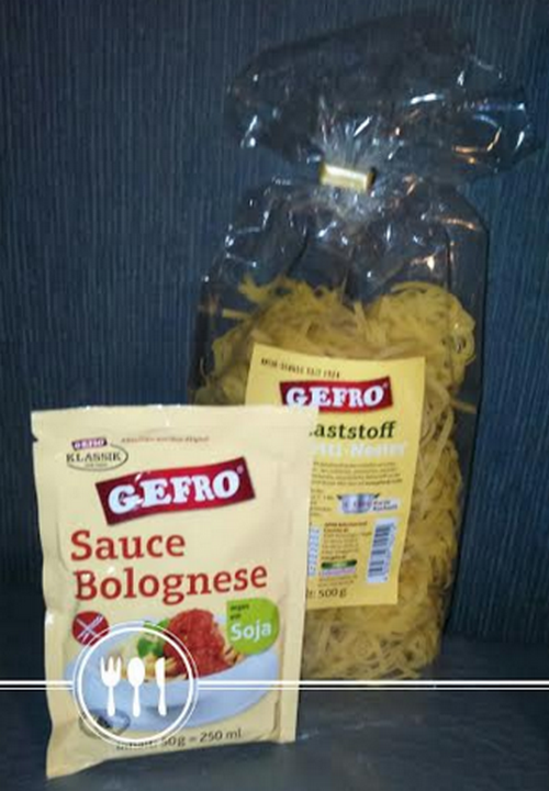 gefro sauce bolognese