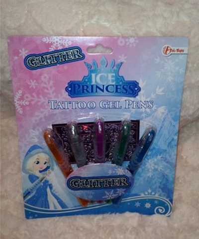 stylos gels la reine des neige