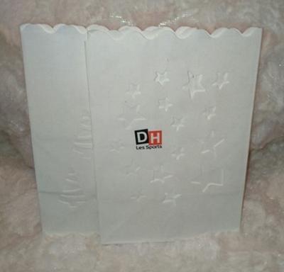 pochettes en papier