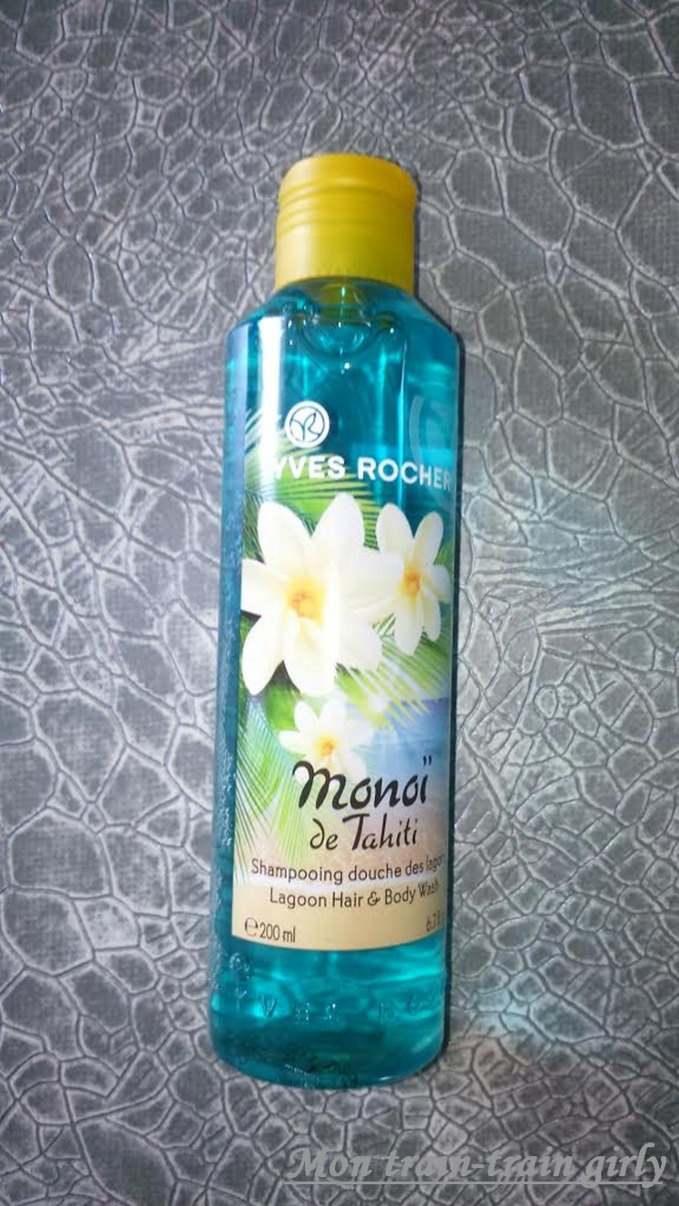 shampoing monoi de tahiti