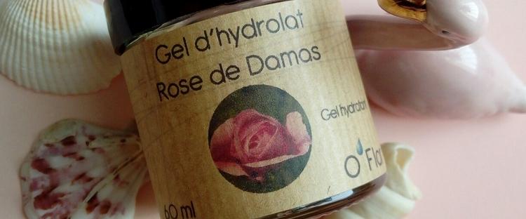 Gel d'Hydrolat rose de Damas Kréalikos