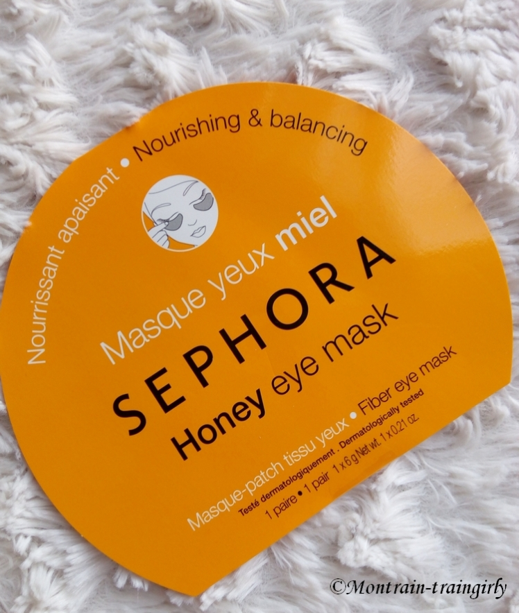 Honey eye mask SEPHORA