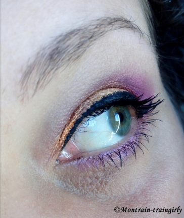 Smoky eyes colors feat modelite