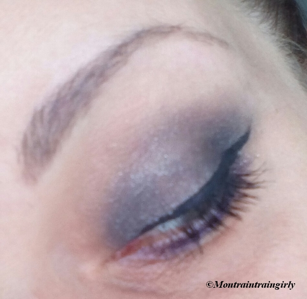 MSC anthracite gris et mauve younique