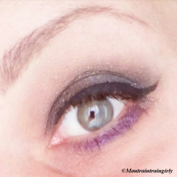 MSC anthracite gris eyeshadow