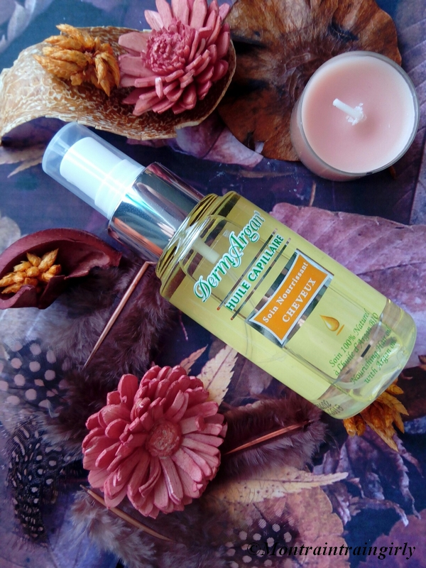 derm'argan huile capillaire