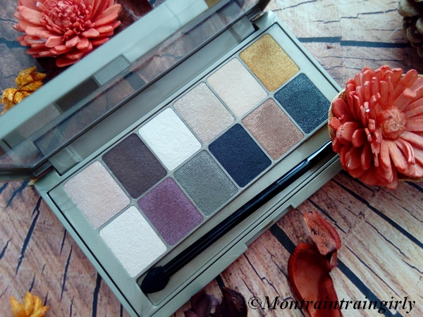 palette the 24 karat nudes maybelline fards