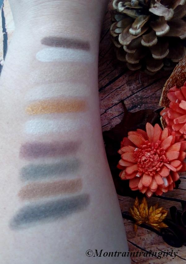 palette the 24 karat nudes maybelline swatchs