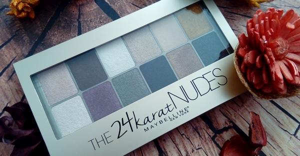 palette the 24 karat nudes maybelline