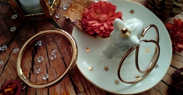 cute land porte bijoux licorne bijoux rose gold