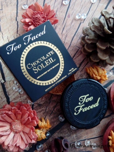 too faced chocolate soleil packaging