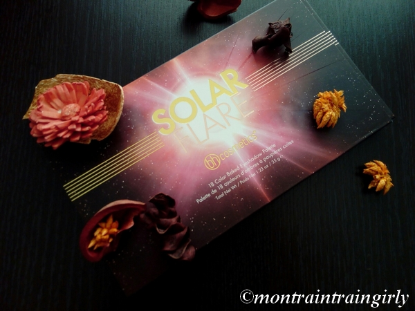 palette solar flare BH cosmetics