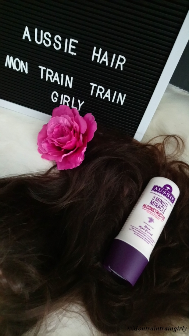 Aussie shampoing 3 minutes
