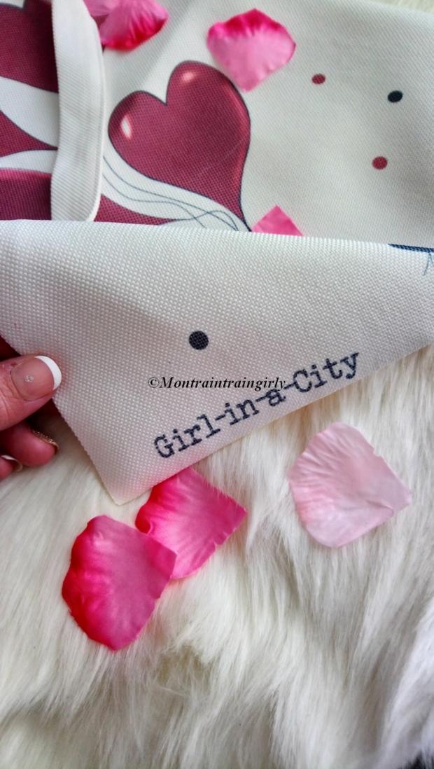 girl in a city tote bag