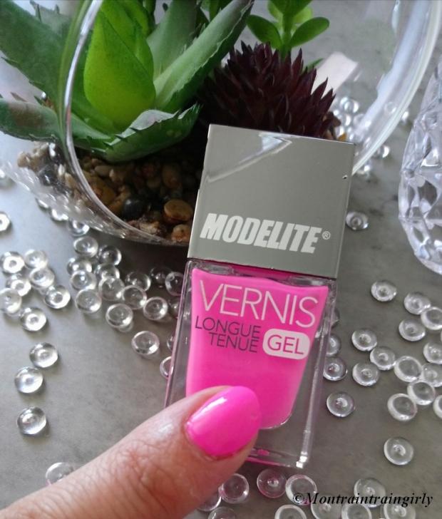 MODELITE vernis 7 rose bonbon