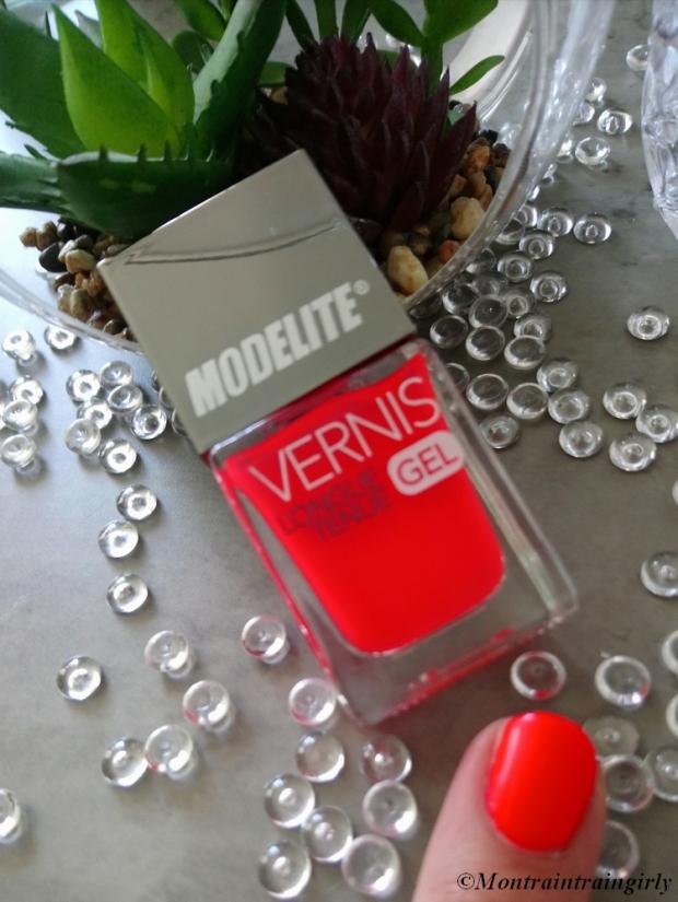 MODELITE vernis 8 orange vif