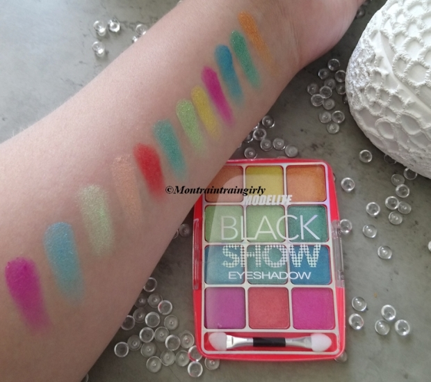 MODELITE palette black show swatchs
