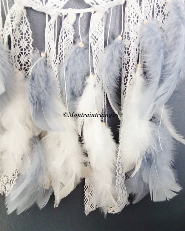 gypsy chic plumes attrappe-rêves